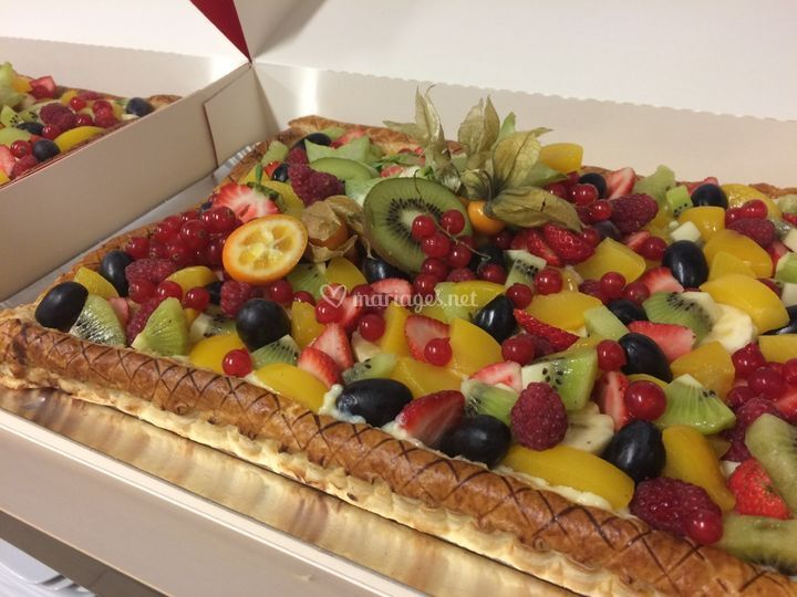 Tarte Tutti-frutti