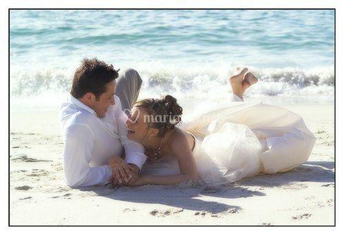 Couple sur le plage
