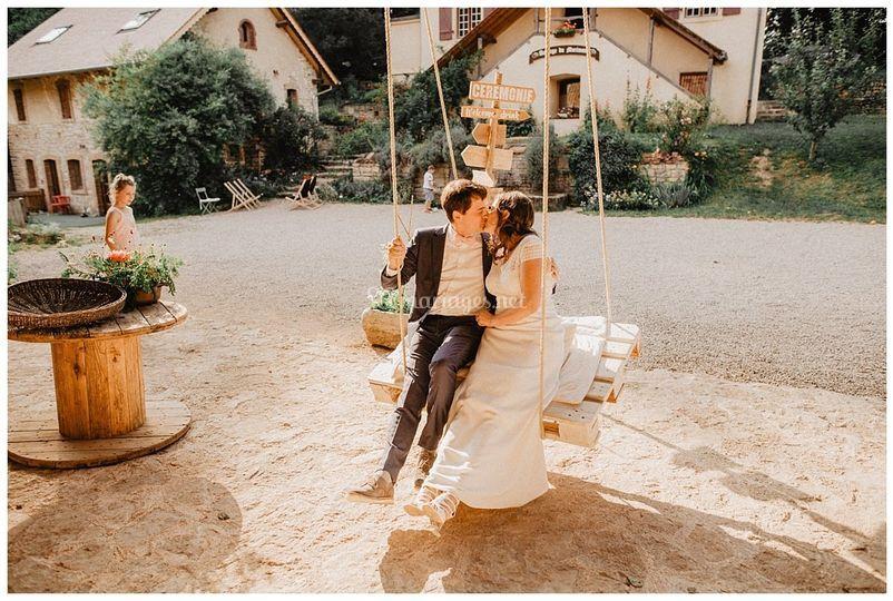 Mariage grange alsace suisse