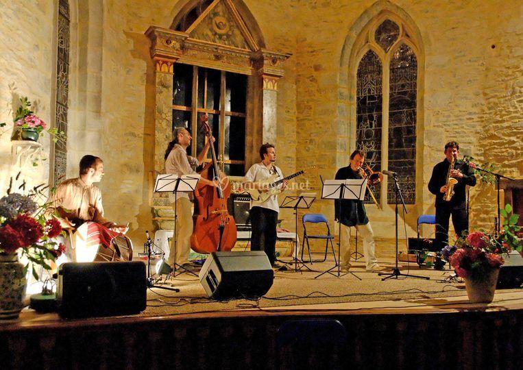 BalkArt Band en concert
