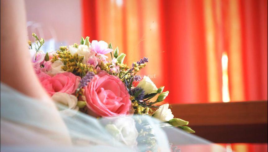Le traditionnel bouquet
