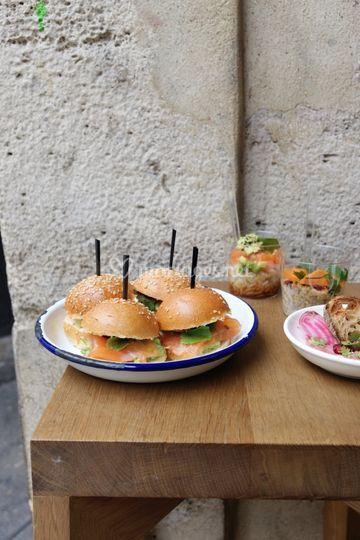 Minis-burgers