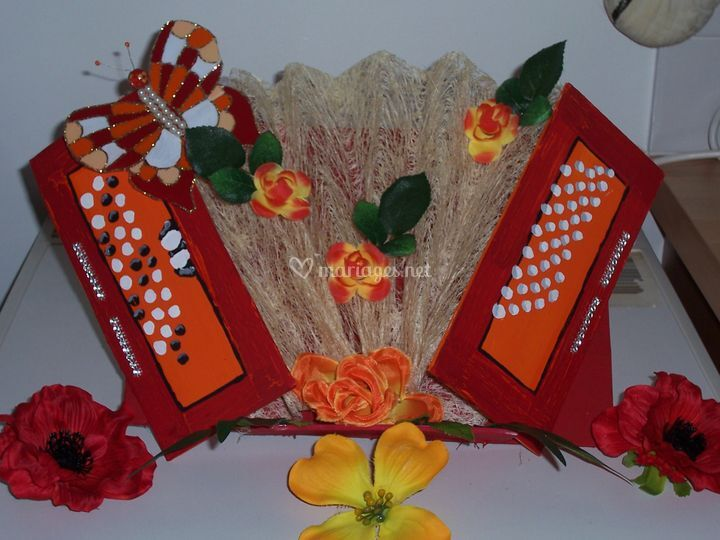 Accordéon décoratif