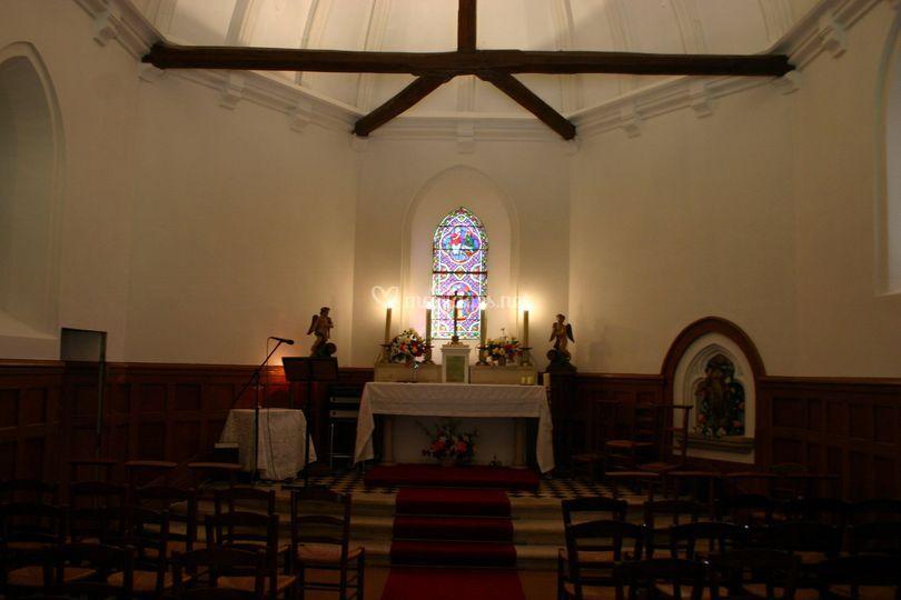 Intérieure chapelle