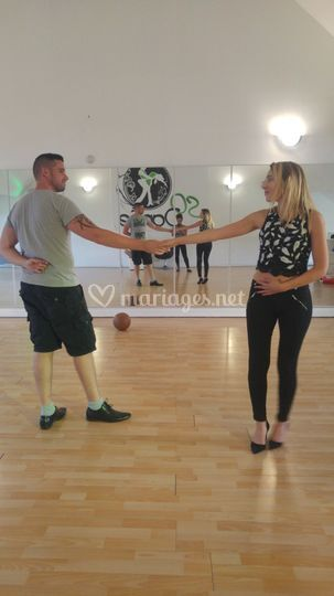 Répétition salle de danse