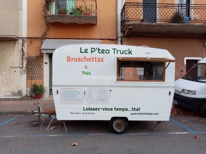 Le p'tea truck !