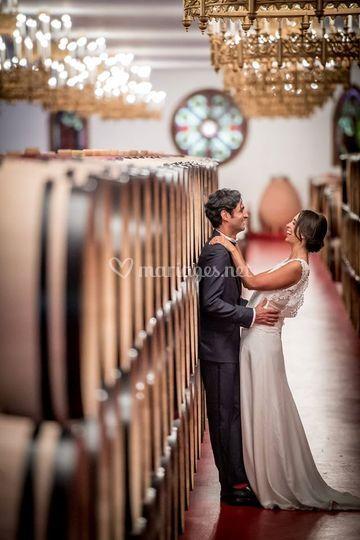 Les mariés - Salle des Chais