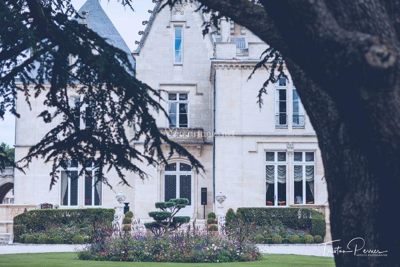 Château Pape Clément - jardins