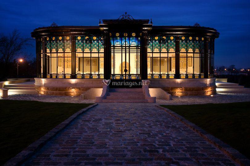 Pavillon du Prélat de nuit