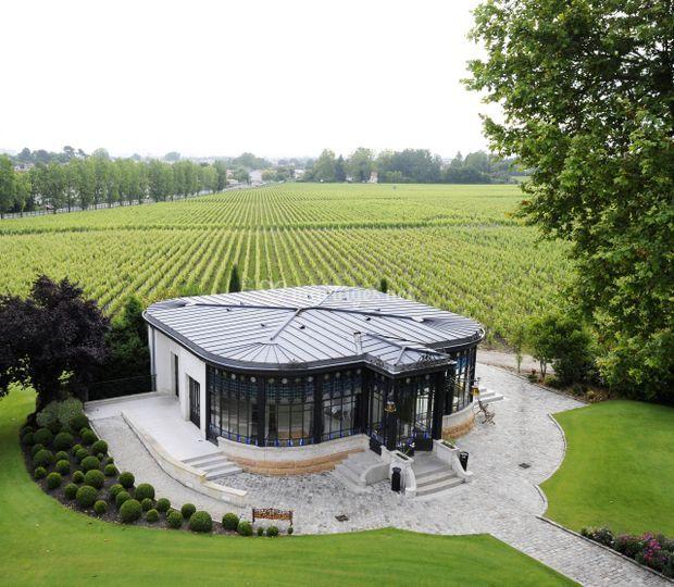 Pavillon du Prélat vignes