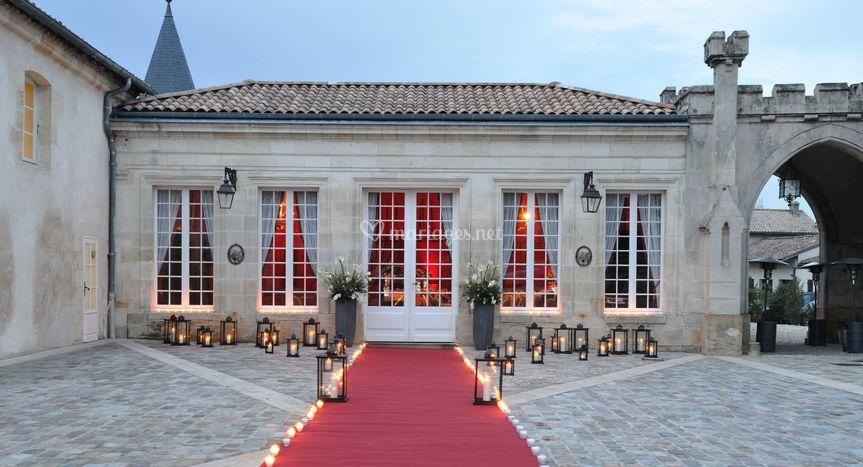 Salle de l'Orangeraie - Parvis