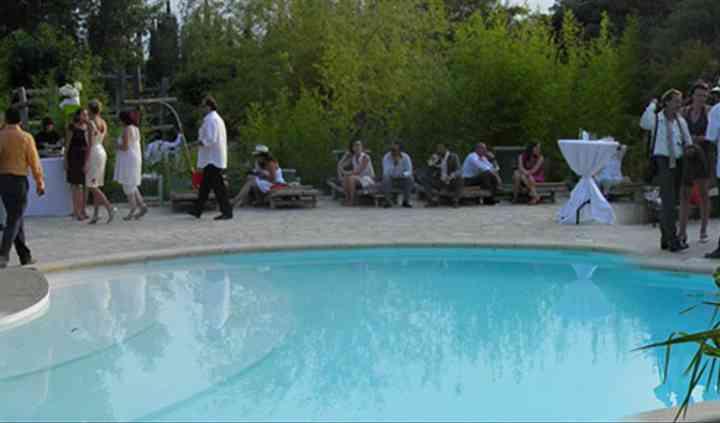 Apéritif piscine