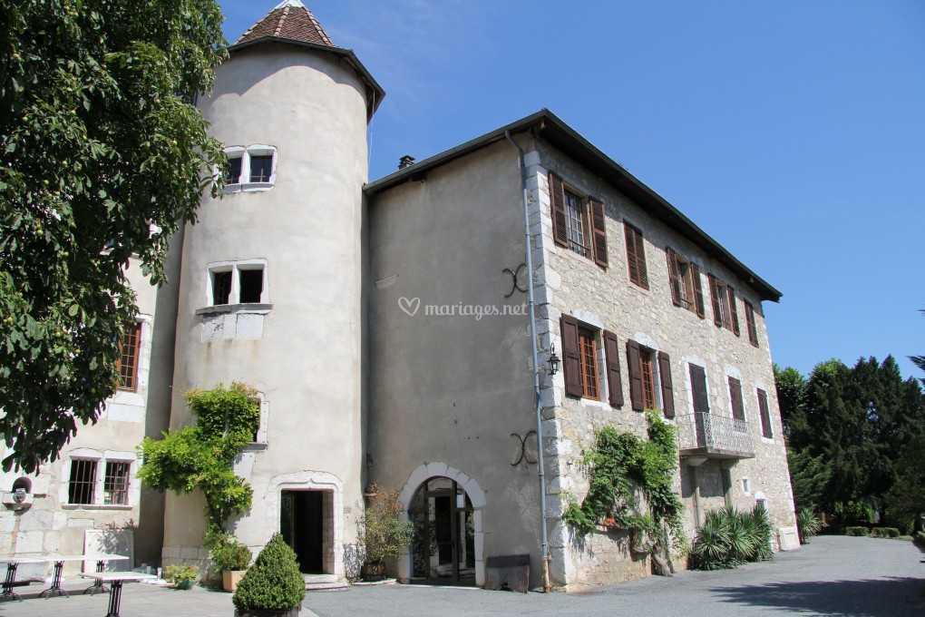 Château vue terrasse
