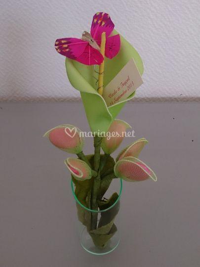 Mariage en fleur