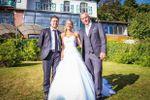 Couple de mariés & Officiant