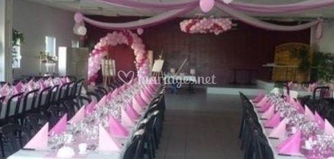 Salle pour les mariages