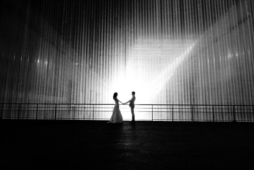 Couple en lumière