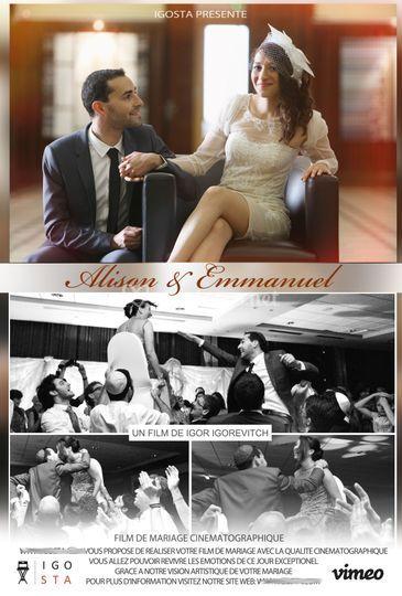 Vidéos de mariage Lyon