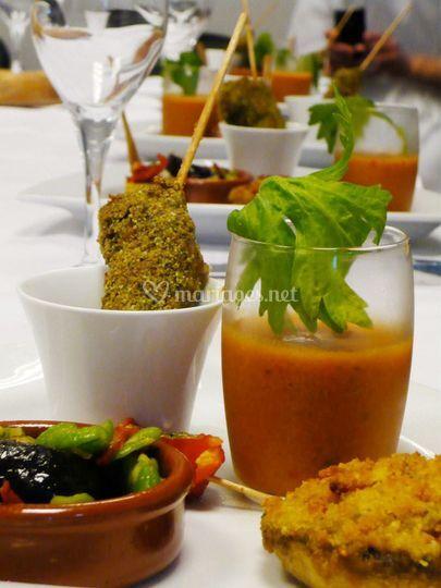 Buffet gaspacho