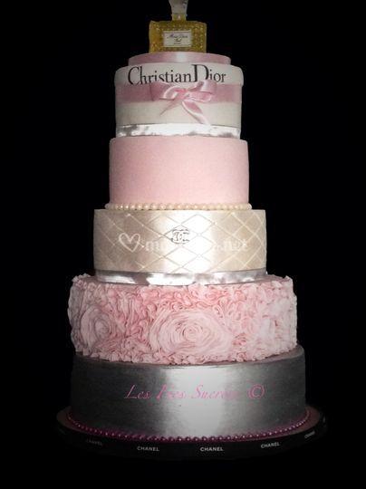 Gâteau féminin