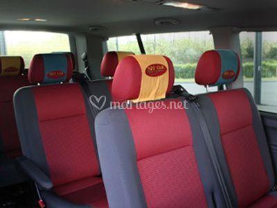 Interieur minibus
