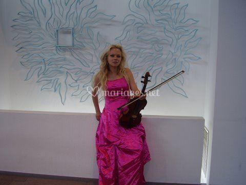 Violoniste Finlandaise