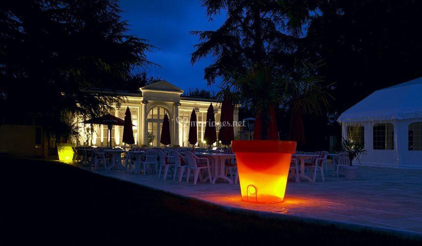 Grande Orangerie de nuit