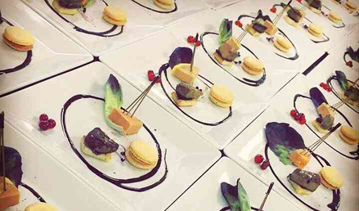 Entrée foie gras mariage