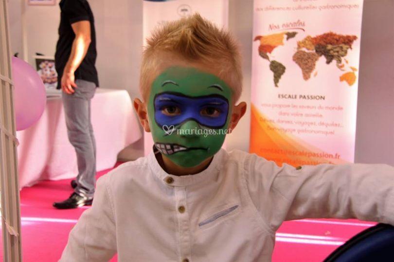 Maquillage Ninja