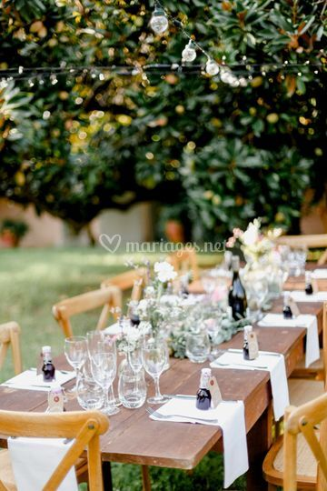 Location chaises tables