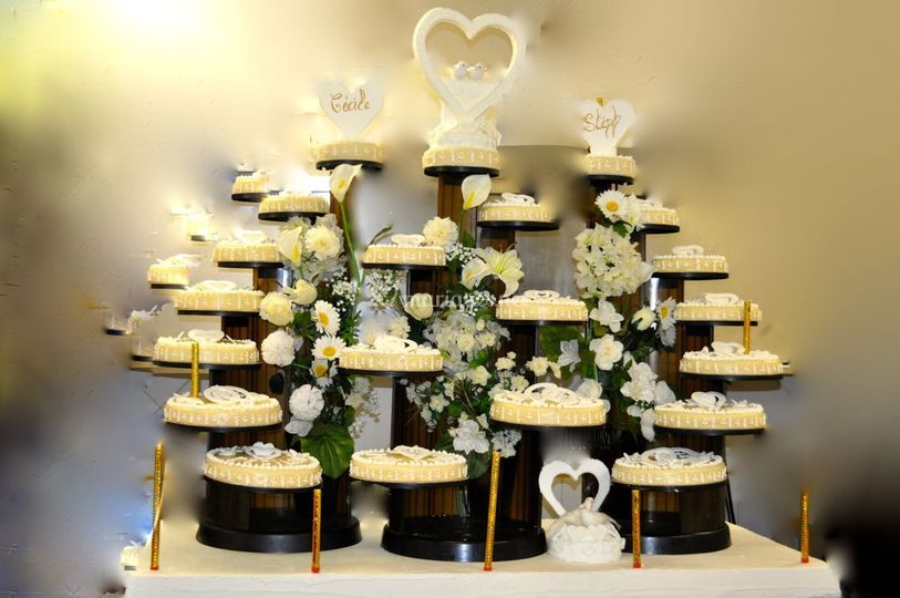 Gâteau de la mariée