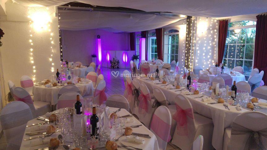 Salle mariage + DJ