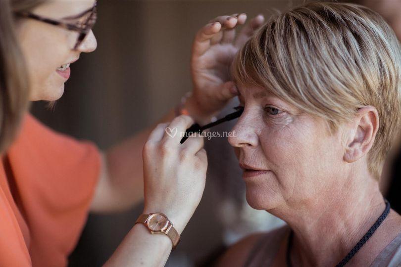 Maquillage événement