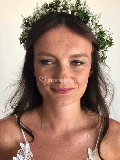 Mariée maquillage Smoky Eyes