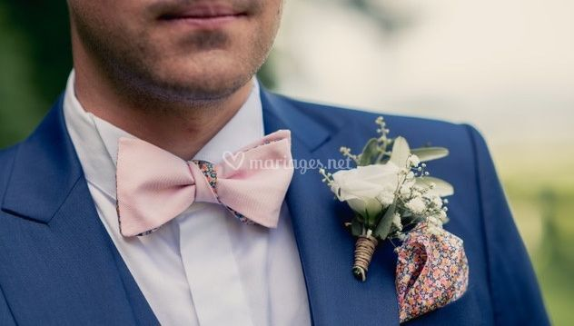 Boutonnière à fleurs