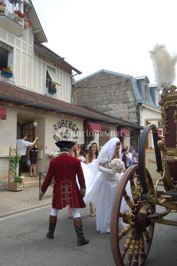 Mariage à l'auberge