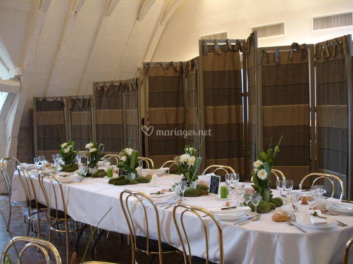 Decoration Mariage Salle Vignaud