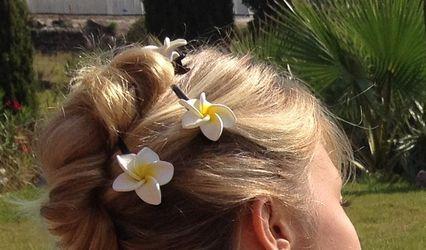 Fleur de frangipanier