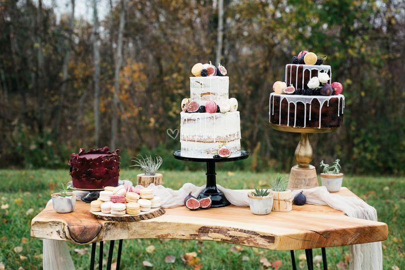 Wedding, naked , et sucrerie