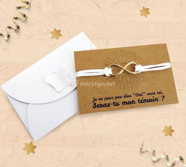 Carte bracelet