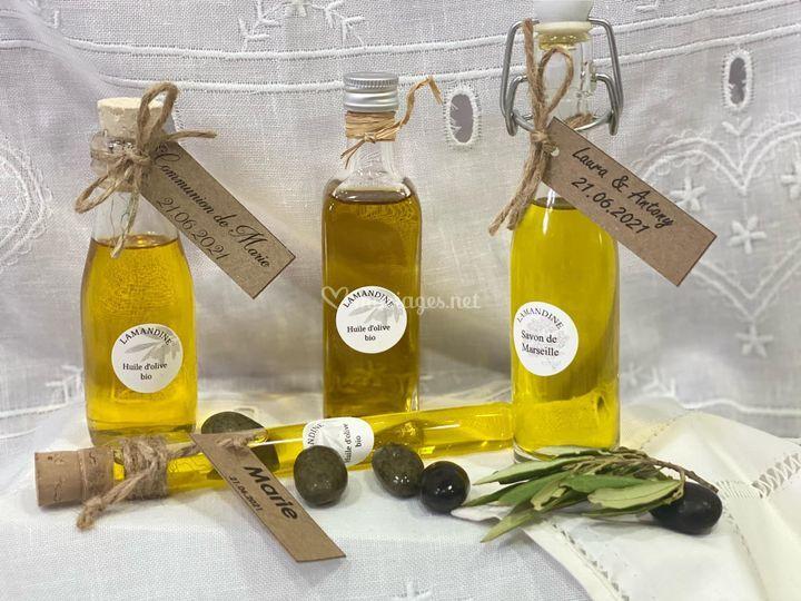 Huile d'olive Lamandine