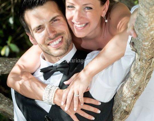 Nos heureux nouveaux mariés !