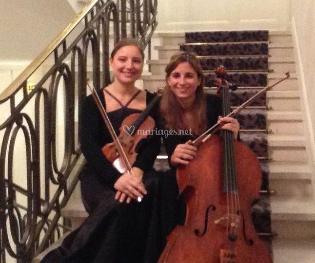Duo violon violoncelle Ivana