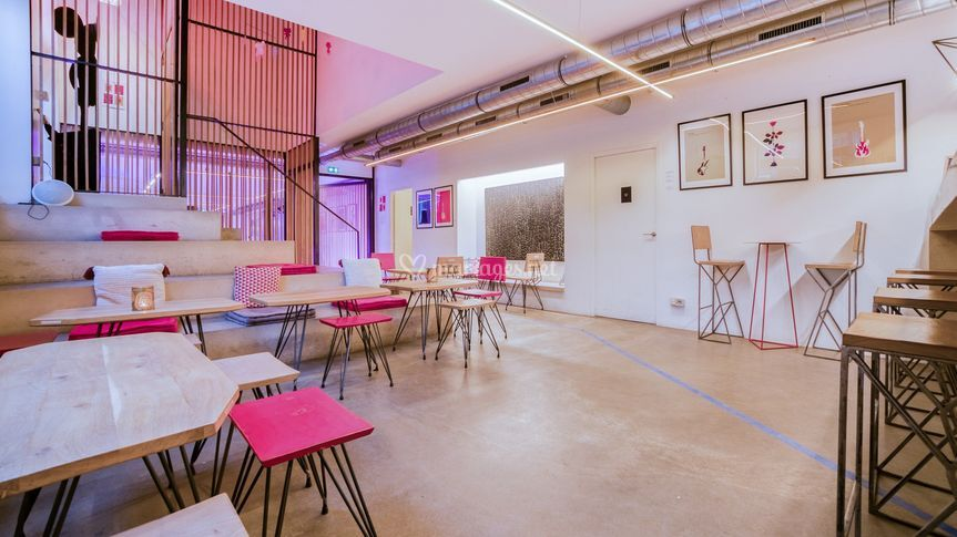 Espace bar & réception