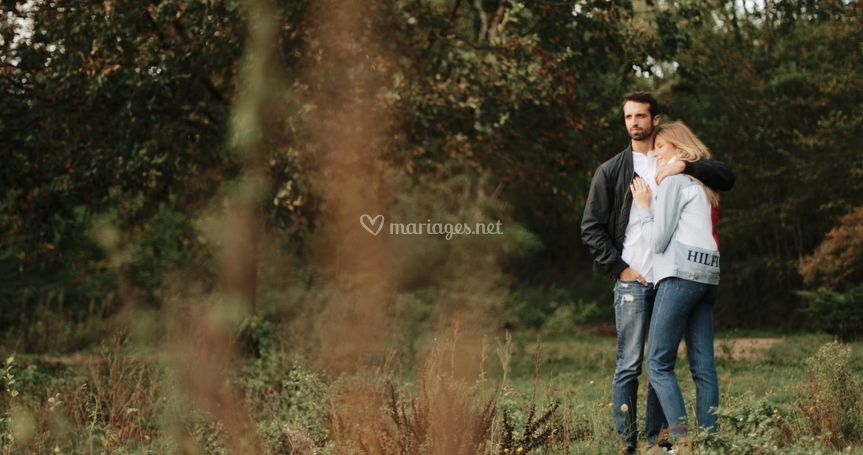 Shooting Automne - Love story