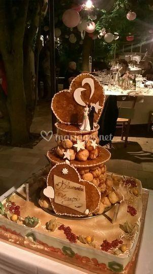 Pièce montée gâteau
