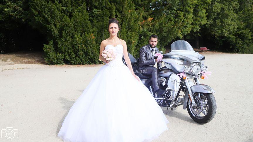 Shooting photo du mariage