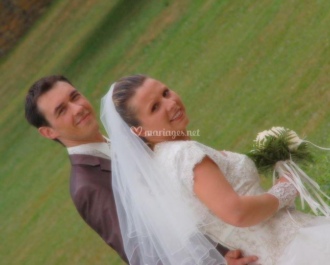 Promenade des mariés