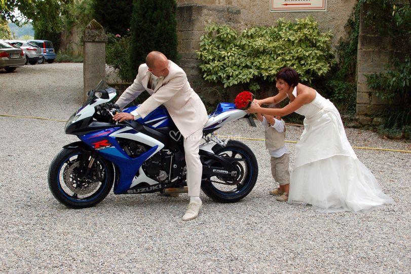 Panne de mariés