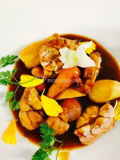 Cassolette ris de veau